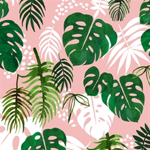 Gift wrap Tropical Palm
