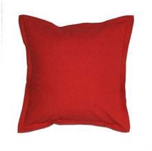 Cushion cover w/flounce 50x50 Red