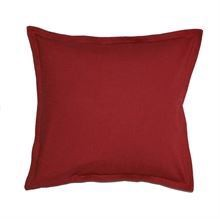 Cushion cover w/flounce 50x50 Bordeaux