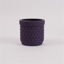Potts flowerpot Deep purple