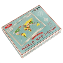 World map jig saw puzzle