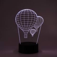 3D LED Night light Airballoons