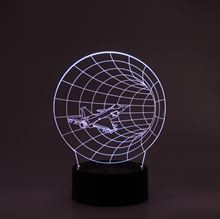3D LED Night light Tunnel fly