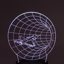 Plate for 3D Night light Tunnel fly