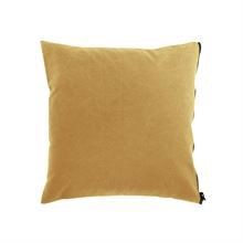Cushion cover Washed canvas 50x50 Curry