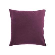 Cushion cover Washed canvas 50x50 Mulberry