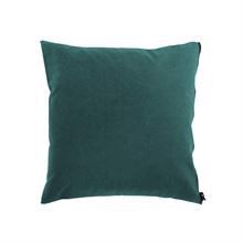 Cushion cover Washed canvas 50x50 Petrol