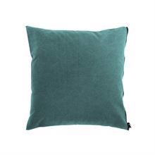 Cushion cover Washed canvas 50x50 Ocean blue