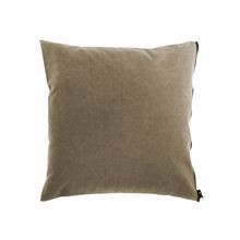 Cushion cover Washed canvas 50x50 Sand