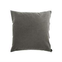 Cushion cover Washed canvas 50x50 Grey