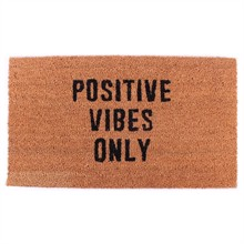 Doormat Positive vibes only